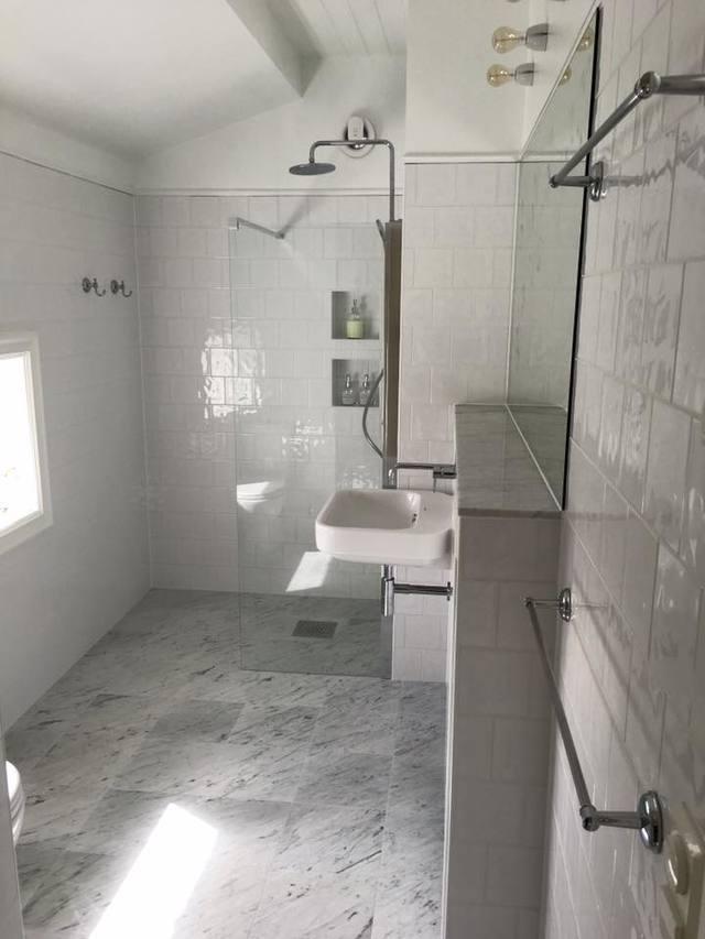 Fantastiskt badrum